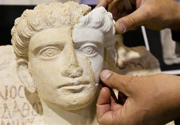 3D 프린팅으로 ISIS에 의해 파괴된 시리아의 흉상 복원